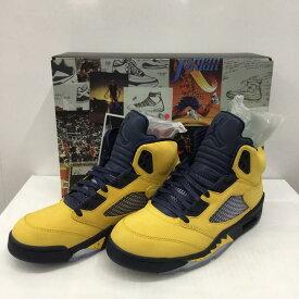 NIKE ナイキ スニーカー スニーカー Sneakers NIKE AIR JORDAN 5 RETRO SE CQ9541-704 27.5cm タグ有り 箱有【USED】【古着】【中古】10034041