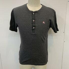 BURBERRY BLACK LABEL バーバリーブラックレーベル 半袖 Tシャツ T Shirt 無地 ワンポイント【USED】【古着】【中古】10037184