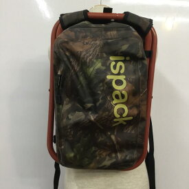 ispack イスパック リュックサック、デイバッグ リュックサック、デイパック Backpack, Knapsack, Day Pack アドベンチャーシリーズ 座れるリュック【USED】【古着】【中古】10037651