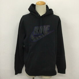 Supreme シュプリーム 長袖 パーカー Hooded Sweatshirt, Hoodie Supreme Nike Leather Applique Hooded Sweatshirt【USED】【古着】【中古】10044570