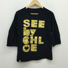 SEE BY CHLOE シーバイクロエ 七分袖 カットソー Cut and Sewn 【USED】【古着】【中古】10045615