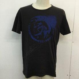 DIESEL ディーゼル 半袖 Tシャツ T Shirt クルーネック プリント RN93243 CA25594【USED】【古着】【中古】10046538