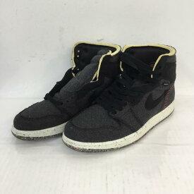 NIKE ナイキ スニーカー スニーカー Sneakers CW2414-001 AIR JORDAN 1 HIGH ZOOM AIR 26【USED】【古着】【中古】10053639