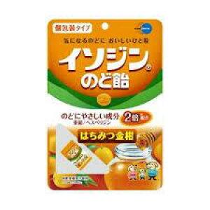 イソジン のど飴 はちみつ金柑 個包装タイプ 54g