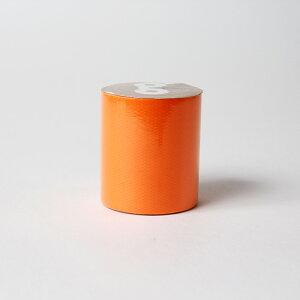 送料無料 オレンジ 50mm 5M かわいい ガムテープ テープ 蛍光テープ 蛍光塗料 ネオンカラー 2巻セット推し色 推しカラー