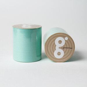 送料無料 パステルグリーン パステル グリーン 50mm×5M かわいい ガムテープ 布粘着テープ 手で切れる 工作 図工 ハンドメイド DIY 梱包 ラッピング