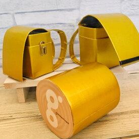 金色 ガムテープ 台風 金 テープ 金色 布テープ 梱包テープ 50mm×5M ガムテープ ゴールド 防災 キャンプ DIY 牛乳パック椅子 DIY