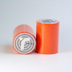 リピールテープ オレンジ 養生テープ 50mm 5M ガラス飛散防止 台風 テープ 養生テープ 台風