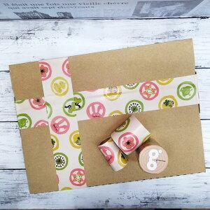 送料無料 着物 紋柄 テープ 50mm 5M かわいい テープ梱包 デザイン うさぎ 蝶 ひようたん 柿 千鳥 花柄 ガムテープ 和柄 ラッピング かわいい ガムテープ 牛乳パック 椅子