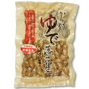 【千葉県産ゆで落花生】から付ゆで落花生畑から収穫。すぐ塩ゆで採りたてをゆでる季節限定品。