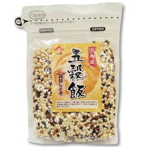 【国内産五穀米】  丸麦、大豆、黒米、赤米、きび白米と一緒に炊くだけ。