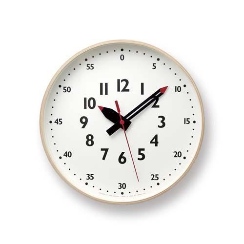 【正規品/1年間保証付】Lemnos/レムノス fun pun clock/ふんぷんくろっく Mサイズ (ふんぷんクロック/壁掛け時計)【送料無料(沖縄県・一部離島は除く)】【smtb-TD】