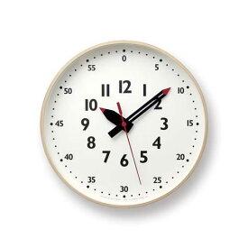 【正規品/1年間保証付】ふんぷんくろっく Mサイズ (ふんぷんクロック/壁掛け時計)Lemnos レムノス fun pun clock/【送料無料(沖縄県・一部離島は除く)】【smtb-TD】