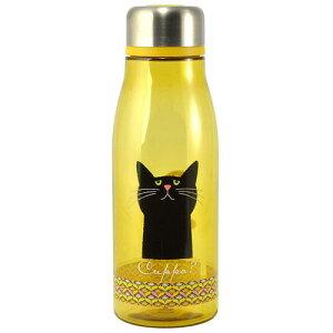 【Cuppa?/カッパ 】フローラルカッパ ボトル マスタード 500ml(ねこ/猫/広口タイプ)[宅配便配送(メール便とネコポスは不可)]