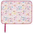 ディズニー プリンセス おむつ替えシート ピンク(携帯用/撥水加工/洗濯機OK/ベルト付)