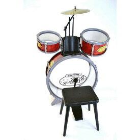 【正規品】(BONTEMPI/ボンテンピ)ロックドラムセット (楽器玩具)【送料無料(沖縄県・離島は除く)】【smtb-TD】