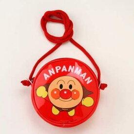 アンパンマン 丸ポシェット 赤(あか/レッド)【メール便も可能】