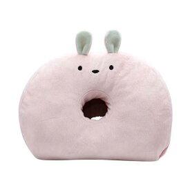 【Zooie/ズーイ】コジット もっちりアニマルベーグルクッション ウサギ(美尻メイク/枕/足枕)[宅配便配送(メール便とネコポスは不可)]
