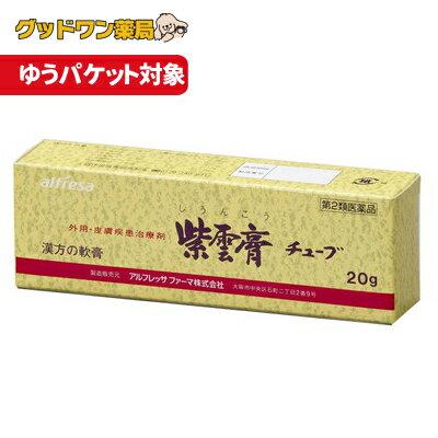 【ゆうパケット対象商品】【第2類医薬品】紫雲膏チューブ(20g)