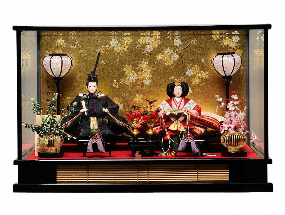 【ひなケース】ひなケース京三五親王皇室カラー有職雛ケース:伏見屋監修【雛人形】【ひな人形】