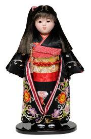 【市松人形】13号市松人形 金彩刺繍衣裳【大正ロマン風】 敏光作【ひな人形】【浮世人形】