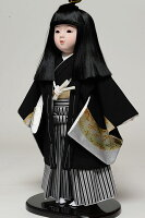市松人形12号市松人形:羽織袴姿:敏光作