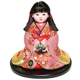 【雛人形】【ひな人形】【市松人形】6号座り木目込市松人形:別織京都西陣織:芳俊作【木目込市松人形】【浮世人形】