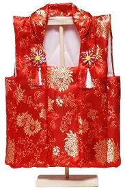 【雛人形】初節句祝着:金襴被布スタンド付 D【ひな人形】
