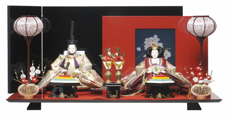 【ひな人形】 三五親王飾:彩桜雛(あやさくらひな):千匠作【雛人形】【親王飾】