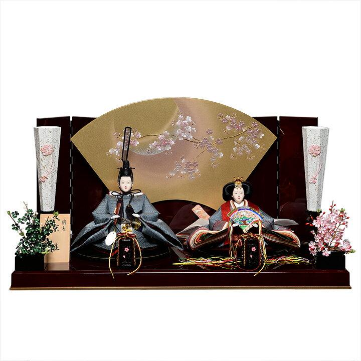 【ひな人形】京小十番親王:有職雛:雅泉作【雛人形】【親王飾】