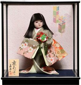 【わらべ人形】浮世・御所8号京あずさ:嘉房作【ひな人形】【浮世人形】