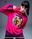 【glamb・グラム】Vinegar Doppio turtle knit ドッピオ刺繍タートルネックセーター JOJO【vol.3】