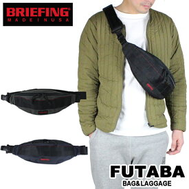 【今回使える限定クーポンあり】【正規取扱店】 ブリーフィング バッグ BRIEFING ボディバッグ TRIPOD ワンショルダーバッグ ウエストバッグ MADE IN USA US製 バリスティックナイロン BRF071219 メンズ