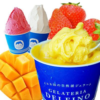 【送料込】自然派ジェラート8個セット【RCP】【お試し特価アイスクリーム】●