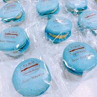 【送料無料】【チョコミントマカロン12個入】天然由来着色料チョコミン党ミントチョコチップ