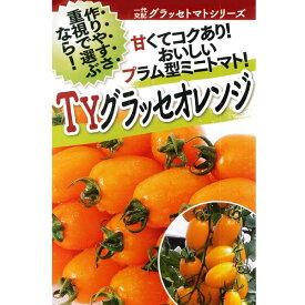 トマト(ミニトマト) 種 【TYグラッセオレンジ 小袋】