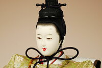 【京雛】唐草鳳凰文之御束帯平安寿峰作−人形のフタバ【送料・代引手数料サービス】