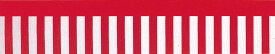 【お祭り用品】ビニール紅白幕50m巻 40cm×約50m【領収書発行】