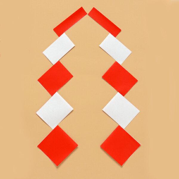 【しめ縄材料】紅白ゴヘイ サイズ:特小【領収書発行】