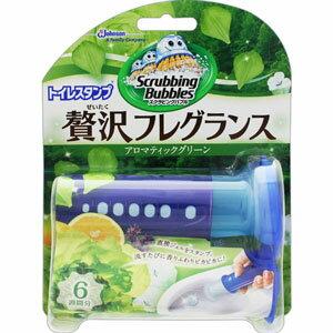 スクラビングバブル トイレスタンプ贅沢フレグランス アロマティックグリーンの香り 本体 38g