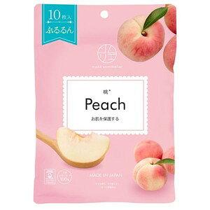 マスクソムリエ 桃 Peach10枚入[配送区分:A]