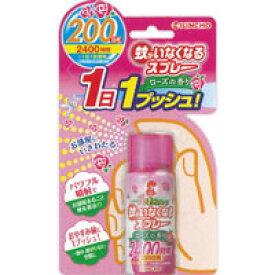 蚊がいなくなるスプレー 200日 ローズの香り 45ml*配送分類:1