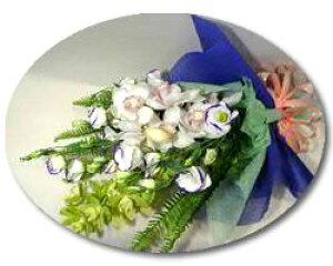 お供え お悔やみ シンビジュームの花束