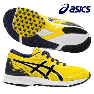 アシックス asics TARTHEREDGE Jr. 1014A164-751 ジュニア ランニングシューズ マラソン 運動会 通学 練習 子供 イエロー