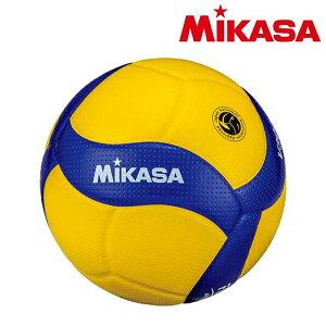 【送料無料】 ミカサ MIKASA バレーボール 4号検定球 V400W 中学 ママさんバレー 黄色 青