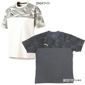【ネコポス送料250円可】 プーマ PUMA サッカー Tシャツ 半袖 CUP カジュアル Tシャツ 656276 フットサル メンズ