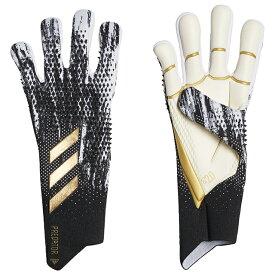 アディダス adidas プレデター GL PRO サッカー キーパーグローブ IRI28-FS0394 ゴールキーパーグローブ ブラック×ホワイト
