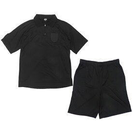 オリジナル サッカー レフェリーウェア 上下セット 審判服 審判着 上下セット レフェリースーツ シャツ 半袖 パンツ TF013-1 レフリー 2020年新モデル