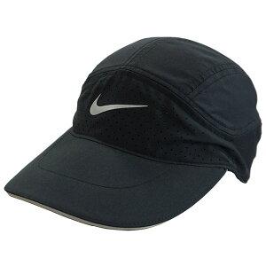 ナイキ NIKE エアロビル テイルウィンド ランニングキャップ BV2204-010 サッカー フットサル 帽子 日除け ラントレ 熱中症予防 ブラック 黒