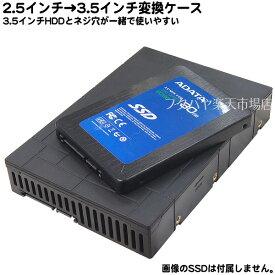 ネジ位置同じ2.5インチ→3.5インチ変換マウンタ●変換時に3.5インチドライブと端子位置・ネジ位置が同じ●DELLやHPの専用アダプタや一体型PC取付に便利HDM-46